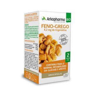 Arkocápsulas Feno-Grego 40 Cápsulas é um suplemento alimentar especialmente desenvolvido para as pessoas que desejam aumentar o seu apetite.