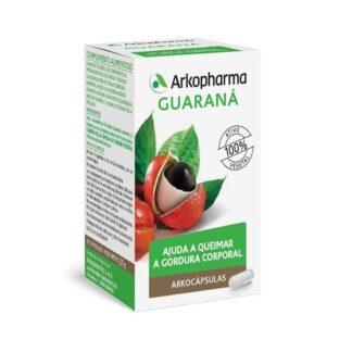 Arkocápsulas Guaraná 40 Cápsulas, suplemento alimentar especialmente desenvolvido para ajudar a queimar a gordura corporal e ajudar a alcáçar o peso desejado. Atua de forma sinérgica, respeitando ao máximo o seu organismo.
