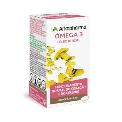 Arkocápsulas Ómega 3 50 Cápsulas, especialmente desenvolvido para as pessoas que desejam reforçar o bom funcionamento do sistema cardiovascular. Uma fórmula exclusiva, que atua respeitando ao máximo o seu organismo.