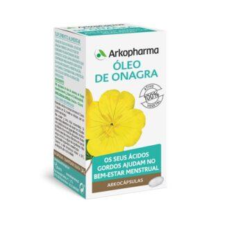 Arkocápsulas Óleo De Onagra 100 Cápsulas, um suplemento alimentar especialmente desenvolvido para as mulheres que desejam aumentar o seu bem-estar durante o período pré-menstrual.Fórmula exclusiva, que atua respeitando ao máximo o seu organismo.