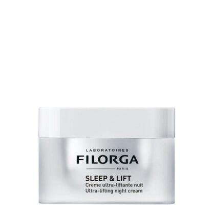 Filorga Sleep and Lift Creme de Noite Ultra Lifting 50ml,ultra lifting formulado com ingredientes ativos derivados dos atos estéticos com a finalidade de um efeito anti envelhecimento radical. Além disso possui uma ação reafirmante intensiva.