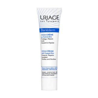 Uriage Bariederm Cica-Creme Reparador 40ml, creme protetor e reparador, indicado para pele fragilizada/agredida (queimaduras, escoriações, tatuagens, atos dermoestéticos).
