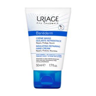 Uriage Bariéderm Creme de Mãos 50ml, creme é um verdadeiro creme barreira, suavizando, apaziguando e nutrindo as mãos muito secas, expostas a agressões quotidianas e produtos químicos