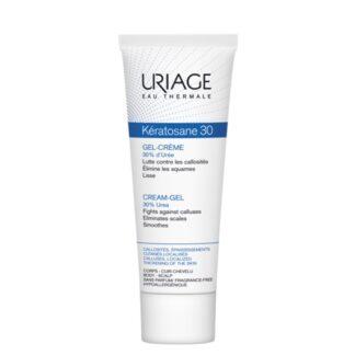 Uriage Keratosane 30 Bisnaga 40ml, creme de elevada tolerância que permite à pele reencontrar o seu aspecto liso, macio, suave e sem rugosidades.
