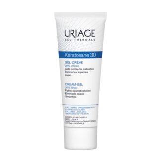 Uriage Keratosane 30 Gel Creme Anti-Calosidades 40ml, gel creme de elevada tolerância que permite à pele reencontrar o seu aspeto liso, macio, suave e sem rugosidades.