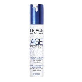 Uriage Age Protect Creme De Noite Detox Multi Ação 40ml