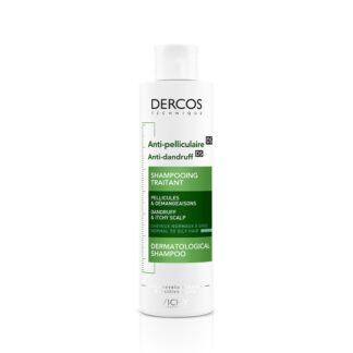 Vichy Dercos Technique Champô Anticaspa Oleosa 200ml, um champô que atua contra a caspa numa fórmula intensamente purificante para cabelo normal a oleoso.