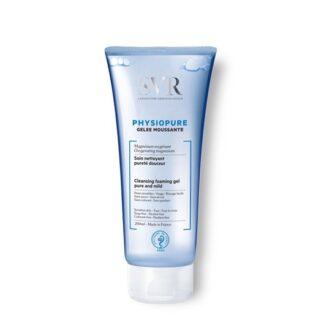 SVR Physiopure Gel de Limpeza 200 ml,dirige-se entãoàs mulheres que preferem a limpeza com água.Esta geleia transforma-se aliás numa espuma cremosa. De tal forma que permite uma limpeza de fácil enxaguamento.