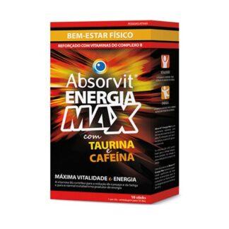 Absorvit Energia Max 10 Sticks Solução Oral