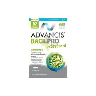 Advancis Bacilpro Intestinal 20 Cápsulas - Pharma Scalabis