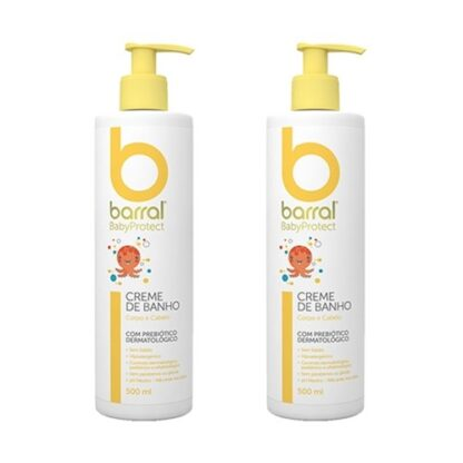 Barral Babyprotect Duo Pack Creme de Banho 2x500ml - Pharmascalabis