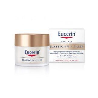 Eucerin Hyaluron-Filler + Elasticity Creme Dia SPF 15 50 ml