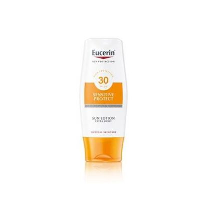 Eucerin Sensitive Loção Solar Extra Light FPS 30 150 ml - PharmaScalabis