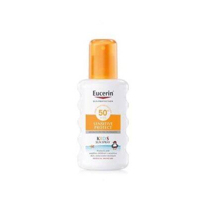 Eucerin Sensitive Protect Spray Solar Crianças FPS 50+ 200 ml - Pharma Scalabis