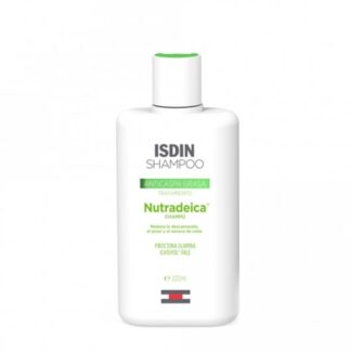 Isdin NutraDeica Champô Anti Caspa Oleosa 200 ml, adjuvante no tratamento farmacológico da dermatite seborreica severa no couro cabeludo ou caspa oleosa