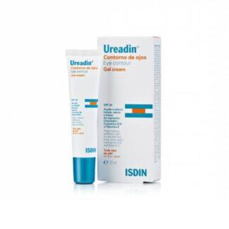 Isdin Ureadin Contorno de Olhos Gel Cream FPS20 15 ml,fórmula completa com ingredientes ativos antipapos, antiolheiras e anti-idade. Tratamento e cuidado específico para papos, olheiras e linhas de expressão da zona periocular. Para todos os tipos de pele.