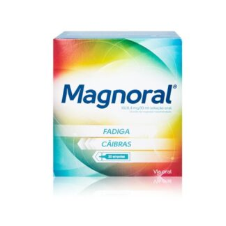 Magnoral Cloreto de Magnésio 20 Ampolas - Pharma Scalabis