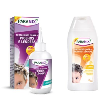 Paranix Pack Champô de tratamento + Champô Proteção 200ml