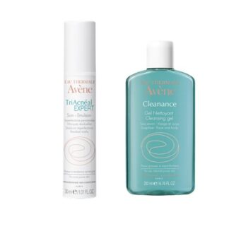 Avene Pack TriAcneal Expert Emulsão 30ml e Cleanance Gel 200ml