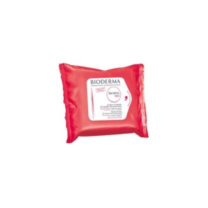 Bioderma Sensibio H2O Toalhetes 25Un PharmaScalabis