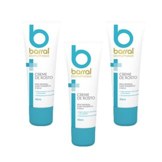Barral Dermaprotect Pack3 Creme Rosto 3x40ml