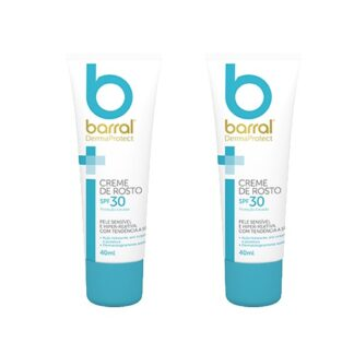 Barral Dermaprotect Duo Pack Creme Rosto Spf 30 2x40ml
