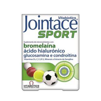 Jointace Sport 30 comprimido fornece um suporte nutricional ideal para desportistas profissionais e amadores, bem como para frequentadores de ginásios e praticantes de exercício físico vigoroso.