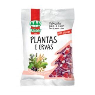 KAISER Rebuçados de Plantas e Ervas Sem açúcar 60gr PharmaScalabis