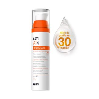 LETIAT4 Hidrogel Anti-Prurido 50ml, 100% específico para acalmar e aliviar o prurido na pele atópica.