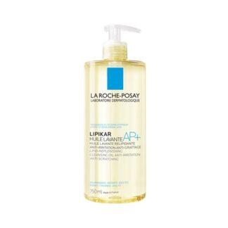 La Roche Posay Lipikar Óleo Lavante Anti-irritações 750 ml,com a finalidade de proteção da pele contra os efeitos deressequimento do calcário. Além disso fornece à pele os lipídios necessários para reconstruir a barreira cutânea.