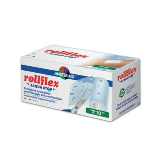 Master-Aid Rollflex Acqua Banda Autoadesivo 10cm