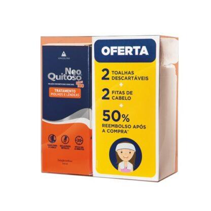 Neo Quitoso Plus100 100ml +Fitas+toalhas PharmaScalabis