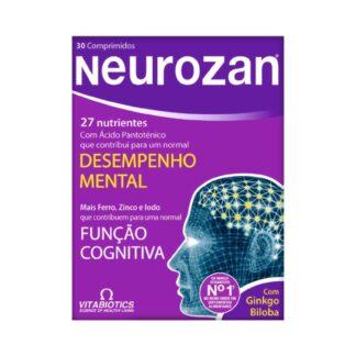 Neurozan Original 30 Cápsulasfoi cientificamente desenvolvido para reforçar a dieta com nutrientes que ajudam a manter o desempenho