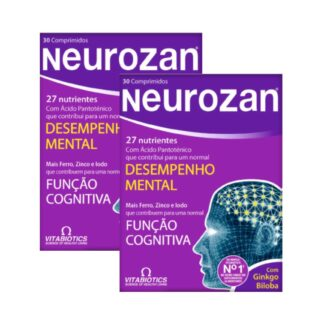 Neurozan Original Pack 2x30 Cápsulasfoi cientificamente desenvolvido para reforçar a dieta com nutrientes que ajudam a manter o desempenho mental