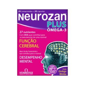Neurozan Plus 28 Cápsulas + 28 Comprimidos, oseu cérebro requer nutrientes essenciais que ajudam a assegurar a sua função e desempenho óptimo