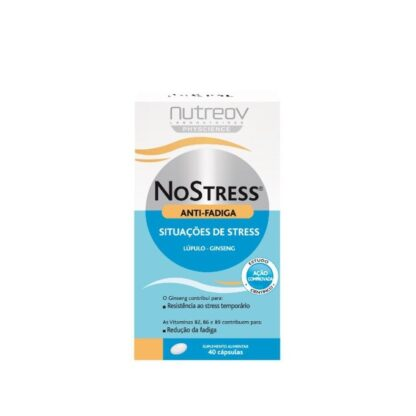 Nutreov NoStress Anti-Fadiga 40 cápsulas