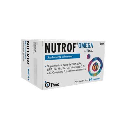 Nutrof Omega Suplemento Alimentar 60 Cápsulas - Pharma Scalabis