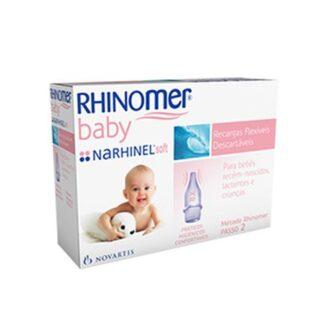Rhinomer Baby Narhinel Soft Recargas Aspirador Nasal 10un PharmaScalabis