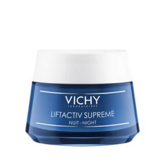 "Vichy Liftactiv Supreme Noite 50ml Cuidado antirrugas noite e firmeza integral para um efeito ""lifting"" duradouro"