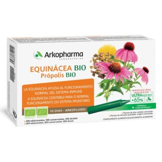 Arkofluido Equinácea e Própolis Bio 10 Ampolas