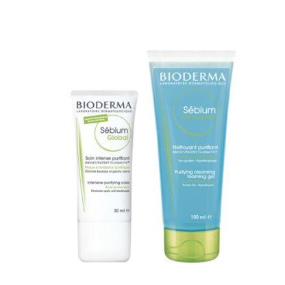 Bioderma Sebium Global 30 ml + Sebium Gel Moussante 200ml
