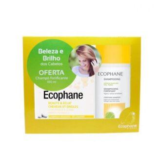 Ecophane Biorga 60 Comprimidos e Shampoo Fortificante 100ml PharmaScalabis