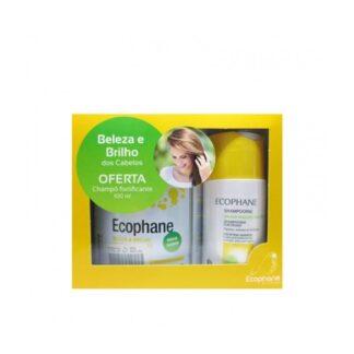 Ecophane Pó 318g e Shampoo Fortificante 100ml PharmaScalabis