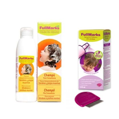 Fullmarks Pack Champô e Spray Anti-Piolhos 150+150ml PharmaScalabis