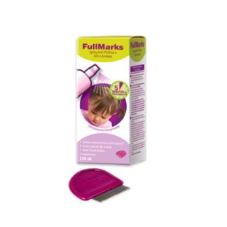Fullmarks Spray Anti-Piolhos e Anti-Lêndeas 150ml PharmaScalabis