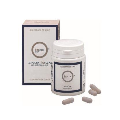 Ioox Zinox Gluconato de Zinco 60 Cápsulas