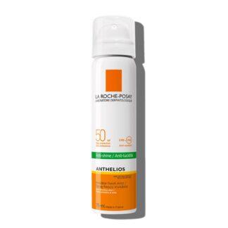 La Roche Posay Anthelios Bruma SPF50+ 75ml,com a finalidade de garantir um largo espectro de proteção contra os UVA e UVB. Além disso é testado sob controlo dermatológico.