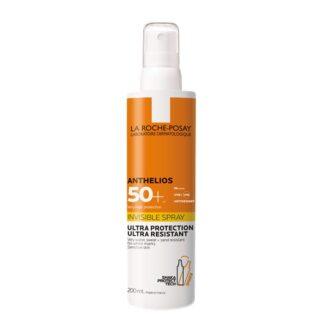 La Roche Posay Anthelios XL FPS50+ Spray 200ml, com a finalidade de garantir umaproteção muito elevada para o rosto e corpo. Além disso este produto é testado sob controlo dermatológico.