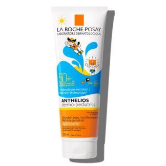 La Roche Posay Anthelios XL Gel Wet Skin 250ml,com a finalidade de garantir uma elevada proteção para rosto e corpo