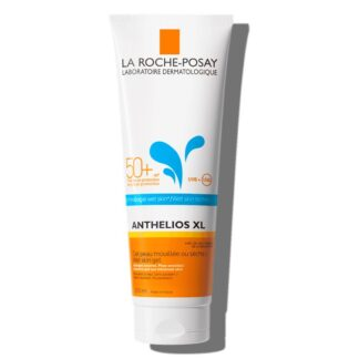 La Roche Posay Anthelios XL Gel Wet Skin 250ml,com a finalidade de garantir uma elevada proteção para rosto e corpo. Além disso é muito resistente à água.